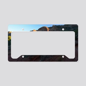 Morning Light at Palo Duro License Plate Holder