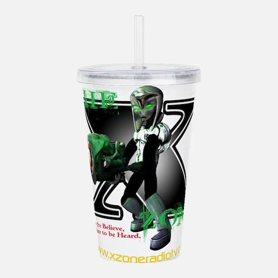 The X-Zone Alien_Green wGun.png Acrylic Double-wal