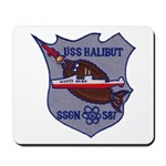 USS HALIBUT Mousepad
