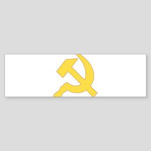 Hammer & Sickle Sticker (Bumper)