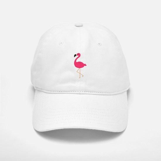 Cute Pink Flamingo Baseball Baseball Baseball Cap