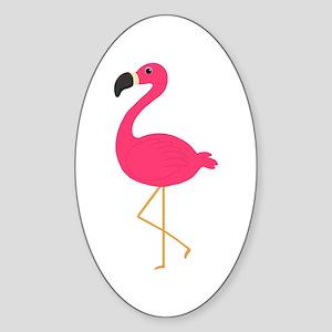 Cute Pink Flamingo Sticker