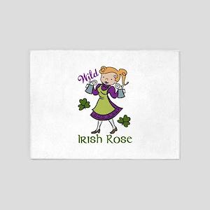 Irish Rose 5'x7'Area Rug