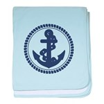 Anchor baby blanket