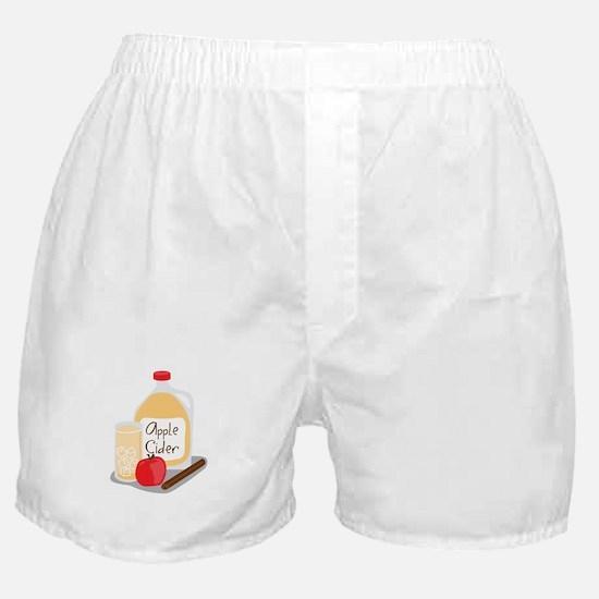 Apple Cider Boxer Shorts