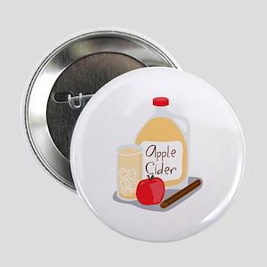 """Apple Cider 2.25"""" Button"""