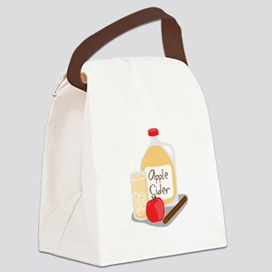 Apple Cider Canvas Lunch Bag
