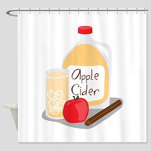 Apple Cider Shower Curtain