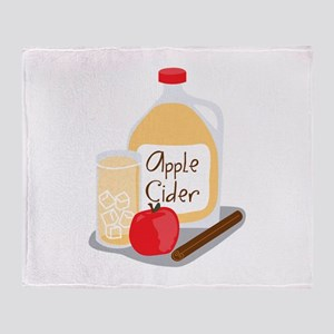 Apple Cider Throw Blanket