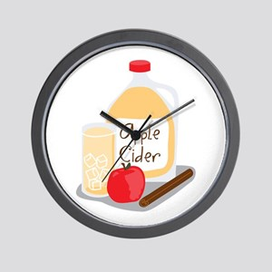 Apple Cider Wall Clock
