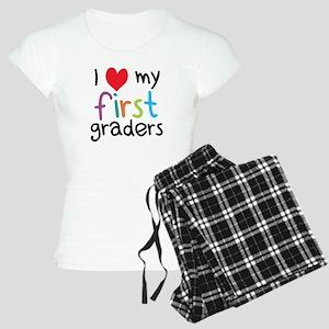 I Heart My First Graders Teacher Love Pajamas
