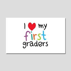 I Heart My First Graders Teacher Love Car Magnet 2
