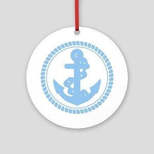 Anchor Ornament (Round)