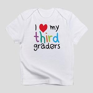 I Heart My Third Graders Teacher Love Infant T-Shi