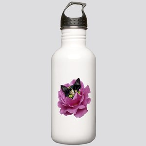 Rose Cat Stainless Water Bottle 1.0L