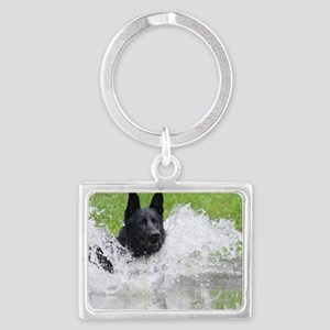 Ace In Landscape Keychain