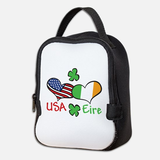 USA Eire Neoprene Lunch Bag