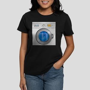 Washing Machine Women's Dark T-Shirt
