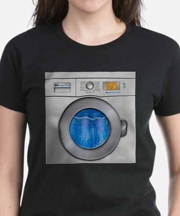 Washing Machine Women's Dark T-Shirt