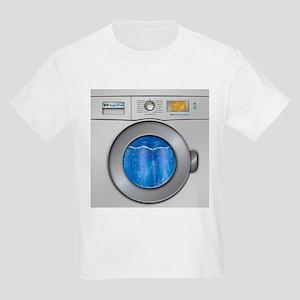 Washing Machine Kids Light T-Shirt