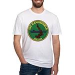 USS HAMMERHEAD Fitted T-Shirt
