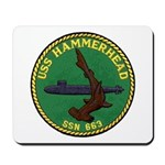USS HAMMERHEAD Mousepad