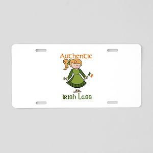 Authentic Irish Aluminum License Plate