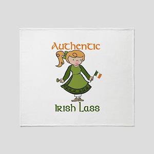 Authentic Irish Throw Blanket