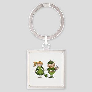 Irish Couple Keychains