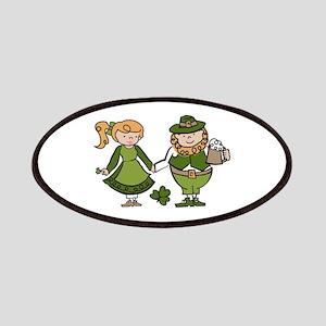 Irish Couple Patches