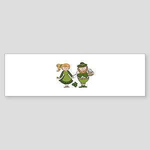 Irish Couple Bumper Sticker