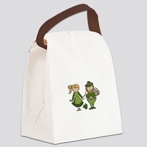 Irish Couple Canvas Lunch Bag