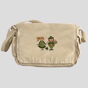 Irish Couple Messenger Bag