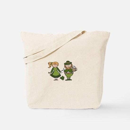 Irish Couple Tote Bag