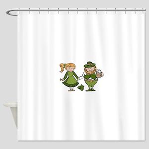 Irish Couple Shower Curtain