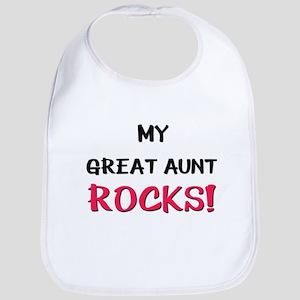 My GREAT AUNT ROCKS! Bib