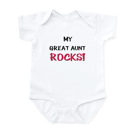My GREAT AUNT ROCKS! Infant Bodysuit