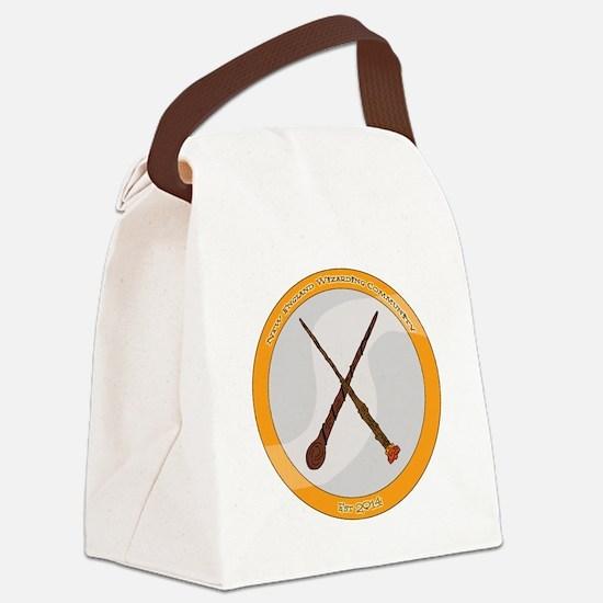 N.E.W.C Logo Canvas Lunch Bag
