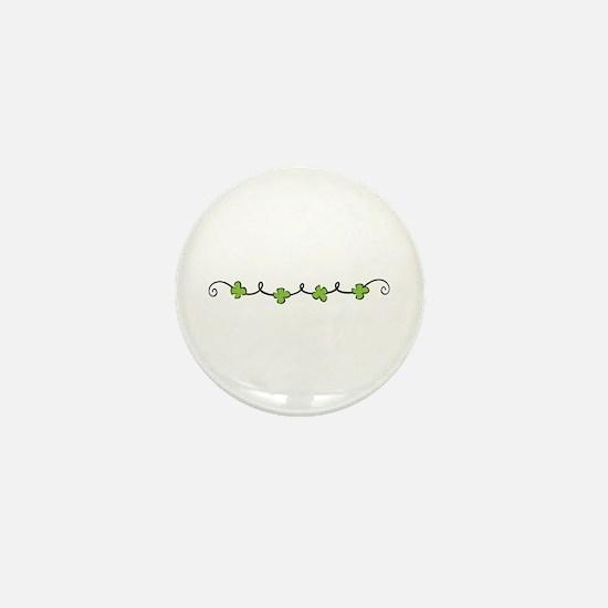 Clover Vine Mini Button