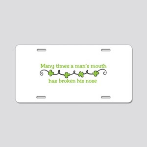 Irish Saying Aluminum License Plate