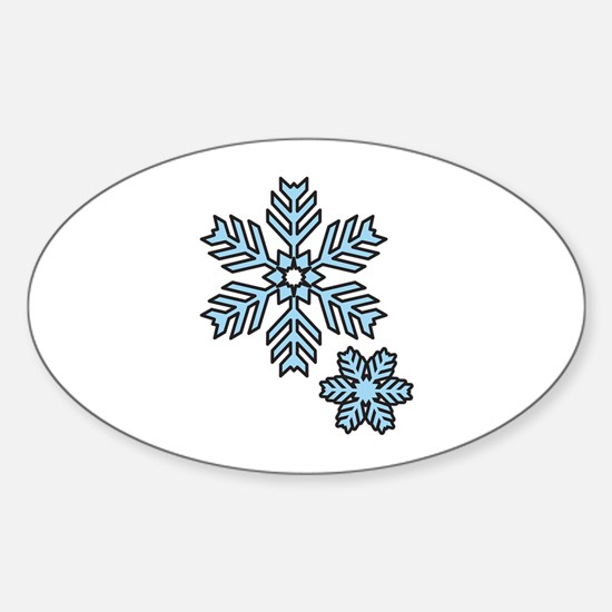 Snow Flakes Decal