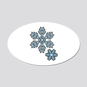 Snow Flakes Wall Decal