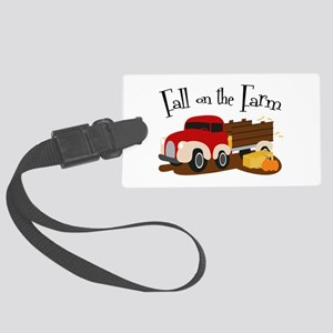 Fall On The Farm Luggage Tag