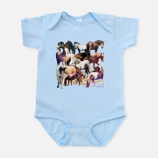 Ponies Infant Bodysuit