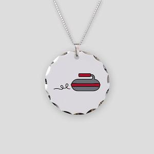 Curling Rock Necklace