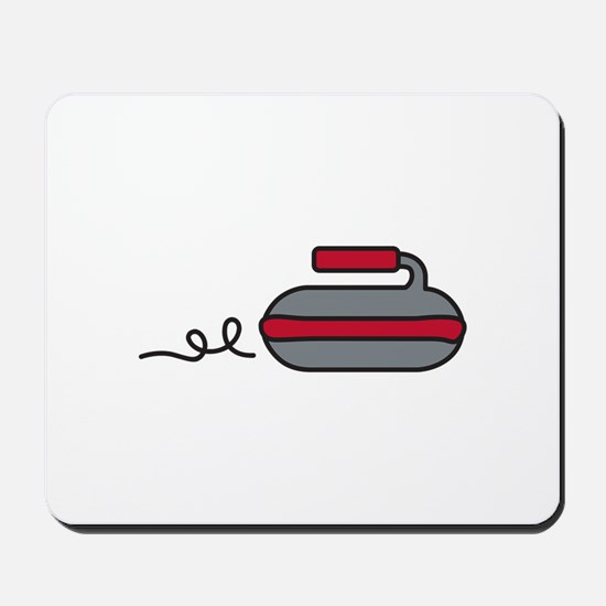 Curling Rock Mousepad
