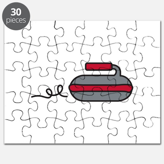 Curling Rock Puzzle