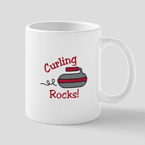 Curling Rocks Mugs