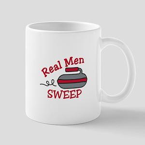 Real Men Sweep Mugs