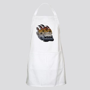 wOOF FURRY BEAR PRIDE PAW BBQ Apron